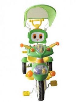Brunte Cute Tricycle Green