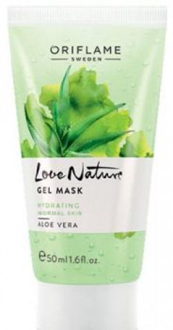 Oriflame Love Nature Gel Mask Aloe Vera  Normal Skin 50ml