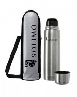 Solimo Thermosteel Flask 1000ml Silver