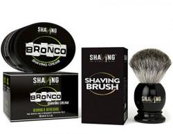 Shaving Station Bronco Shaving Cream  200ml with Shaving Stations Shaving Brush