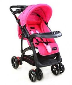 LuvLap Sports Baby Stroller PinkBlack