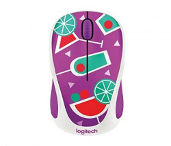 Logitech  Party Collection Cocktail M238 Wireless Mouse Purple