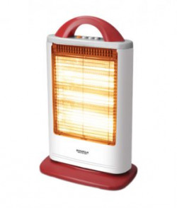 Maharaja Whiteline Lava Room Heater White And Red
