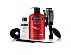 Tresemme Free Hair Styling Kit Worth Rs500 With Keratin Smooth Shampoo 580ml And Conditioner 85ml