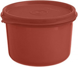 Signoraware Executive Round Big Container 450ml Deep Red