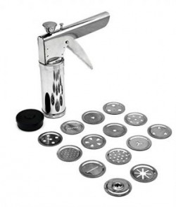 Floraware Kitchen Press with Stainless Steel Jalis 14 Pieces