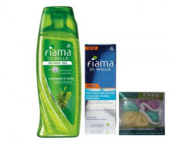 Fiama Di Wills Lemongrass  Jajoba Shower Gel 250 Ml  Free Peach  Avacado Shower Gel 100 Ml