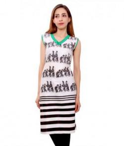 Kurti Studio Multicoloured Cotton Kurti Unstitched Dress Material