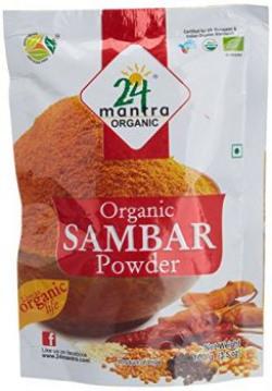 24 Mantra Organic Sambar Powder 100g