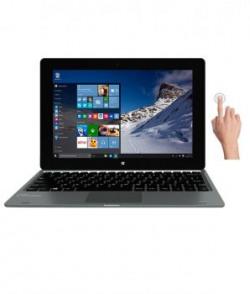1500 Off  Micromax Canvas Laptab lt666w Touchscreen Laptop intel Quad Core 2gb Ram 32gb Emmc Windows 10wifi Only grey