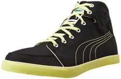 Puma Mens Drongos Idp Puma Black and Limelight Sneakers  8 UKIndia 42 EU