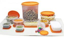 Princeware SF Package Container Set 10Pieces Orange