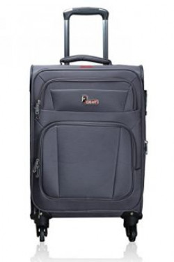 F Gear Cabinet Polyester 71 cms Grey Soft sided Suitcase