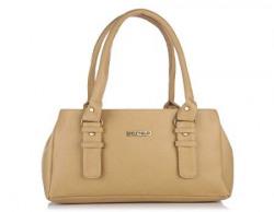 Fostelo Womens Westside Shoulder Bag Beige FSB413
