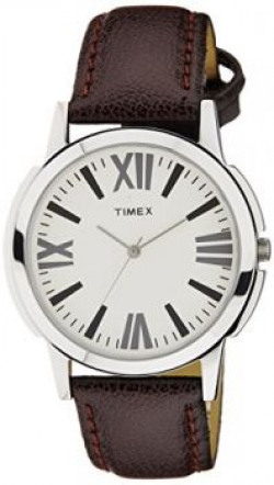 Timex Analog Silver Dial Mens Watch  TW002E101