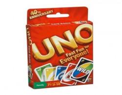 Mattel Uno Fast Fun For Everyone Card Game