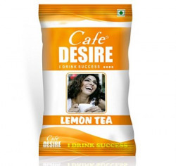 Certified Cafe Desire Instant Tea Premix Lemon Tea for Vending Machine  1 kg Free 200 gms Kadak Masala tea as Complimentary