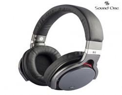 Sound One B5 Bluetooth Wireless Headphones with Mic BlackGrey