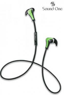 Sound One S501 Bluetooth Headphones GreenBlack
