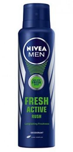 Nivea Fresh Active Rush Deodorant150ml