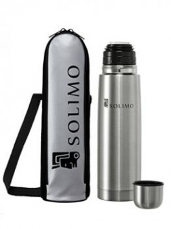 Solimo Thermosteel  Flask 500ml Silver