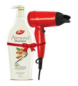 Dabur Almond Shampoo Intense Nourishment 350ml with Hair Dryer