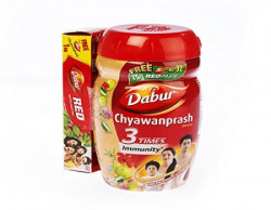 Dabur Chyawanprash Awaleha  1 kg with Dabur Red tooth paste 75g free