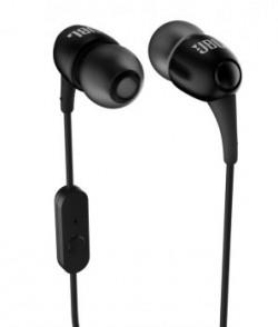 Jbl T100a In Ear Earphones With Mic black