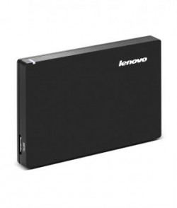 Lenovo F308 1 Tb External Hard Disk Black With Surge Protection Technology
