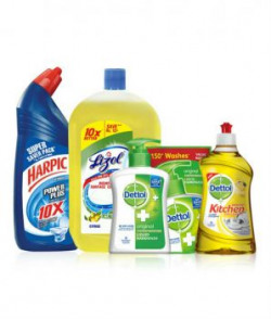 Harpic Toilet Cleaner Ready To Use Liquid Orignal 2590 Pack Of 4
