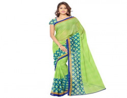 Anand Sarees Womens Faux Georgette Saree PRIME11152Multi