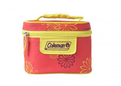 Coleman Pink Daisy Insulated Tiffin Box Set 2 Pieces