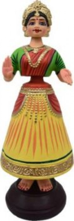 Tanjore Dancing Doll by ELSEIF Showpiece  381 cm