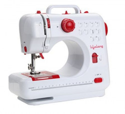 Lifelong SM21 10 Stitch 7Watt Sewing Machine with foot pedal and light