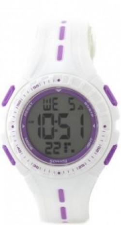 Sonata 8977PP01J Ocean Digital Watch  For Women