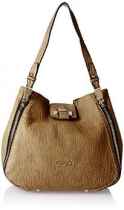 Carlton London Womens Handbag Beige CLLP103