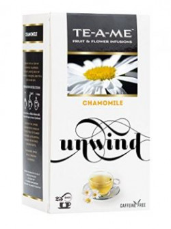 TEAME Chamomile Infusion Tea Pack of 25 Tea Bags
