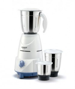 Eveready Glowy Mixer Grinder White And Blue