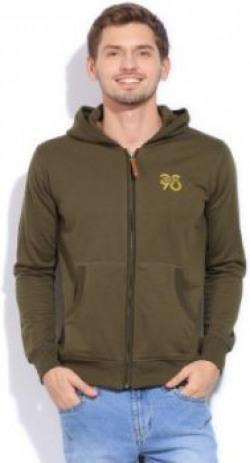 Status Quo Full Sleeve Solid Mens Sweatshirt