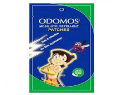 Odomos Mosquito Repellent Patches Zipper Pouch 10patches
