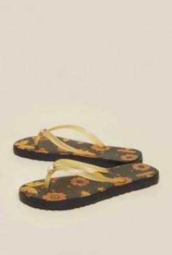ZUDIO orange flip flop