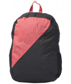 Reebok Black  Peach Unisex Backpack