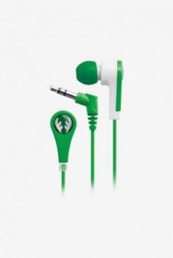 Kids  iFrogz IFANEDER Volume Limiting Earphone for Kids Green