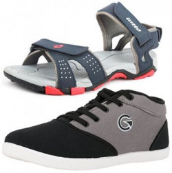 Lotto Mens Multicolor Combo Of Sandal amp Casual Shoes Gt7144461P  UkIn 7