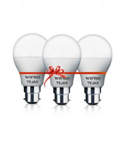 Wipro Tejas 7w pack Of 3 Led Bulb Cool Day Light