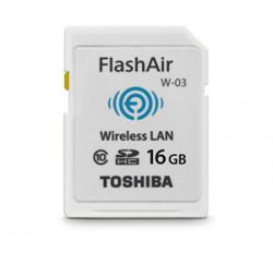 Toshiba Flash Air III Wireless SD Memory Card 16GB PFW016U1CCW