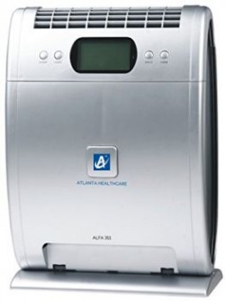 Atlanta HealthcarenbspAlfa 351nbsp5StagenbspPurification 350nbspsq ft 210m3hr air flow HEPA Air Purifier with Remote Control Grey