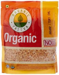 Organic Tattva Arhar Tur Dal 500g