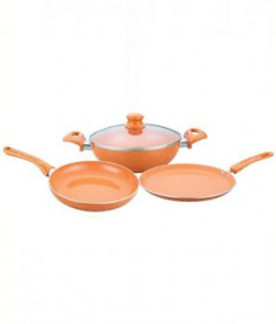 Wonderchef Tangerine Set Of 4pcs induction Base