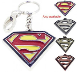WB Keychain Superman Epoxy N 480  key ring  keychain  keyring for Home  Luggage  Car  Bike